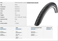 SCHWALBE KÜLSŐ 622-30 (28X1.20) MARATHON RACER PERF HS429 RG SPG REF LS 395G