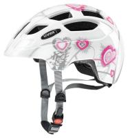 UVEX FEJVÉDŐ  FINALE JUNIOR HEART WHITE PINK