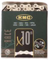 KMC LÁNC X10 SILVER 1/2X1/128 112L