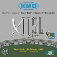 KMC LÁNC X11 SL SILVER 1/2X1/128 114L