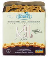 KMC LÁNC X9 SL GOLD 1/2X1/128 116L
