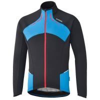 SHIMANO MEZ F15 THERMO WINTER JERSEY FEKETE